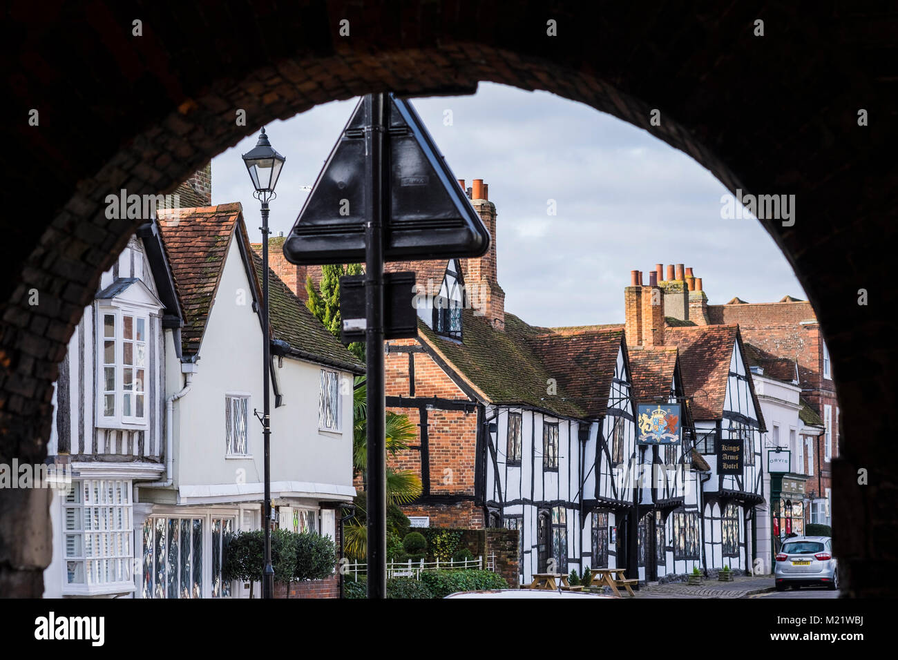 Amersham Old Town, Chiltern Valley, Buckinghamshire, England, U.K. Stock Photo