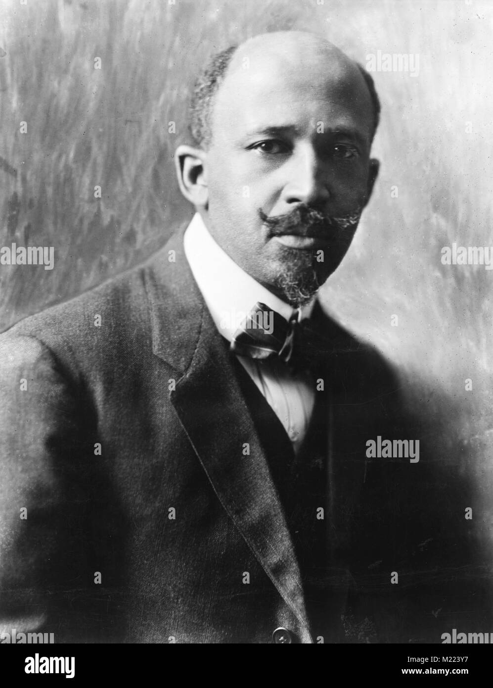 William Edward Burghardt 'W. E. B.' Du Bois (1868 – 1963) American sociologist, historian, civil rights - Stock Image
