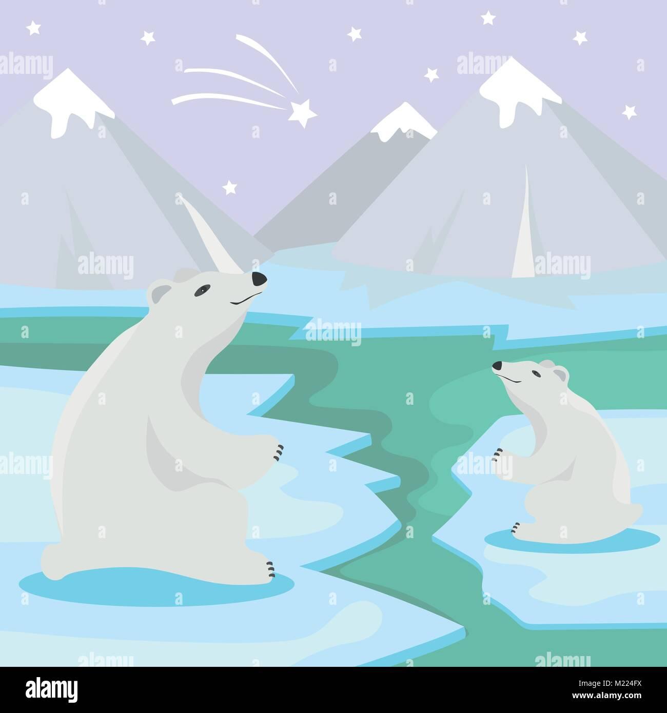 Cartoon Polar Bear Stock Photos Cartoon Polar Bear Stock Images