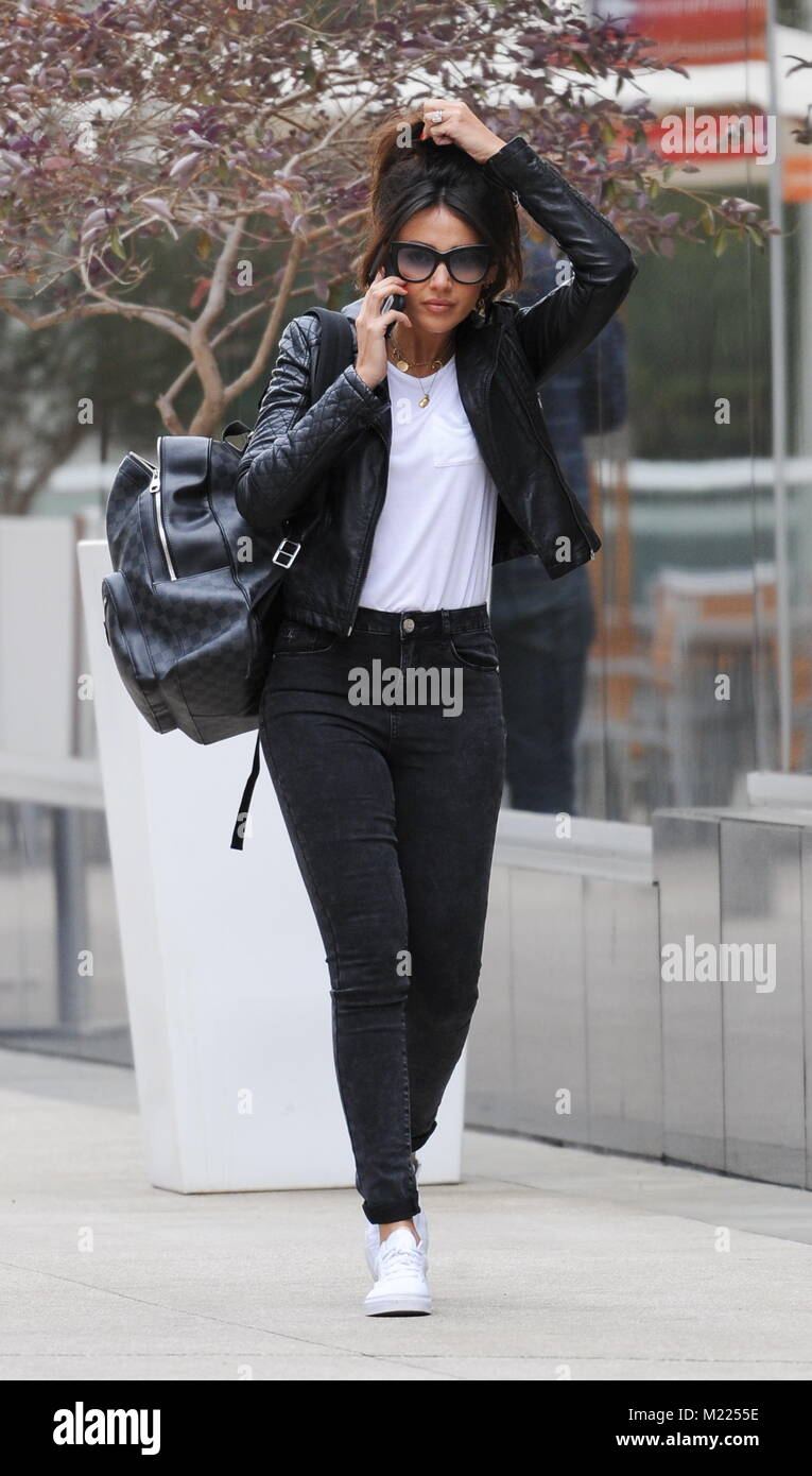 b34ccb0edc350 Michelle Keegan leaving Equinox Gym in West Hollywood. Featuring  Michelle  Keegan Where  West