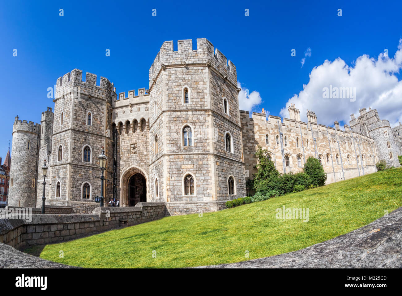 Windsor castle near the London in England, United Kingdom - Stock Image