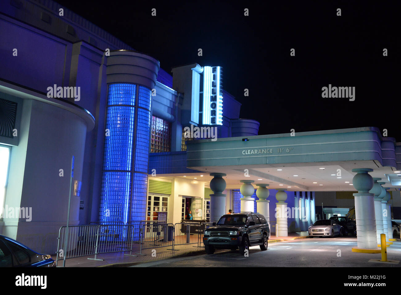 MIAMI BEACH, FL - APRIL 22: Gavin Rossdale of Bush performs at The Fillmore Miami Beach on April 22, 2016 in Miami - Stock Image