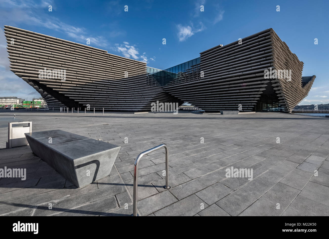 Dundee, Scotland 31st January 2018 V&A Museum of Design, Dundee in Scotland - Stock Image