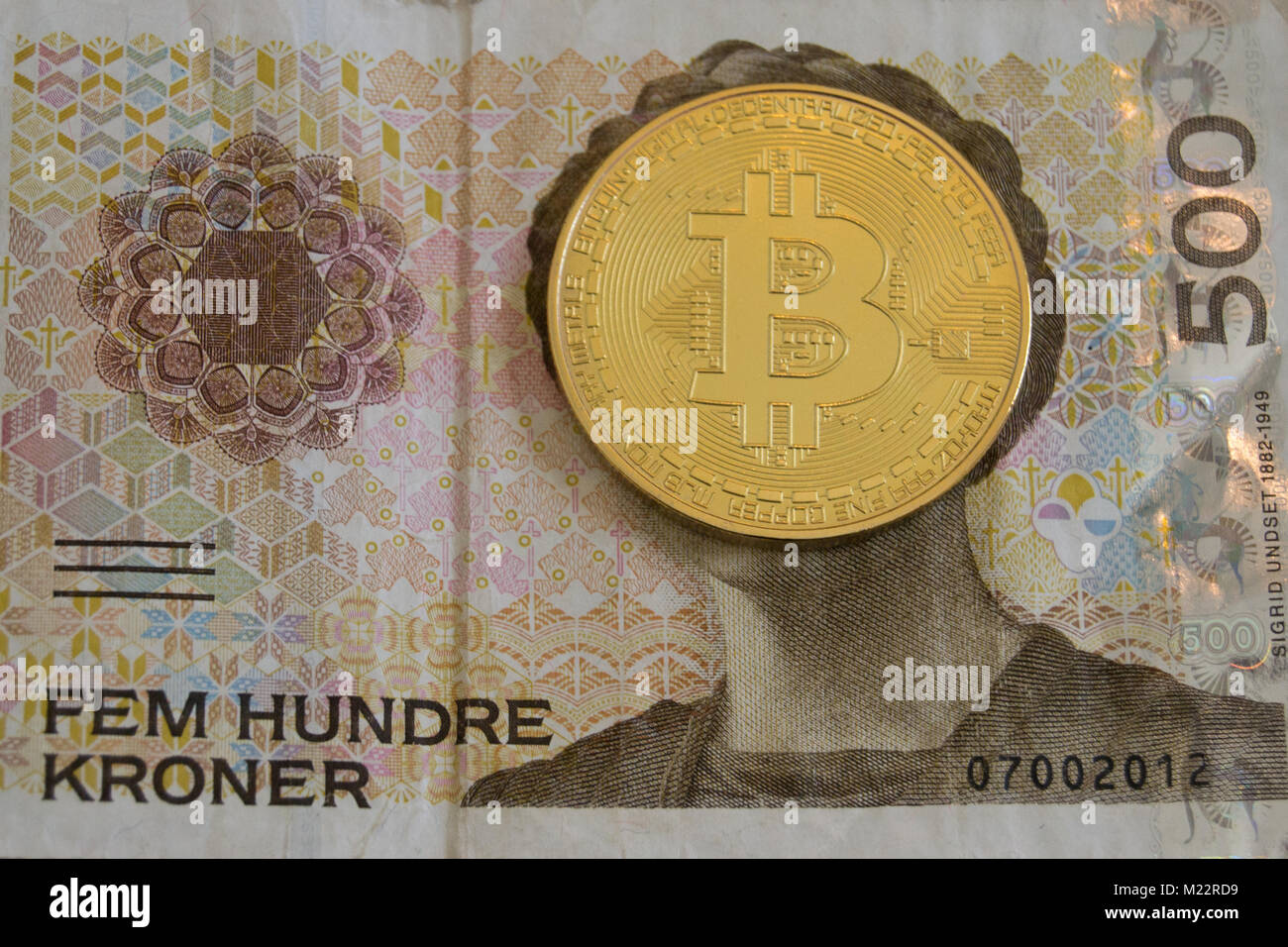 norske kroner til danske