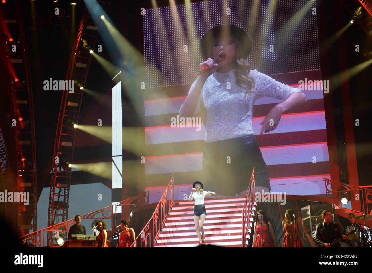 Atlanta Ga April 18 Seven Time Grammy Winner Taylor Swift Born Stock Photo Alamy