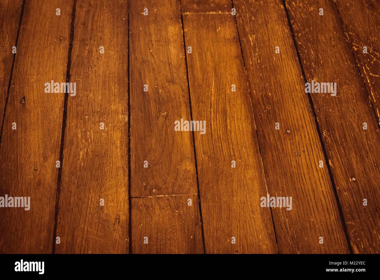 Wood parquet brown - Stock Image