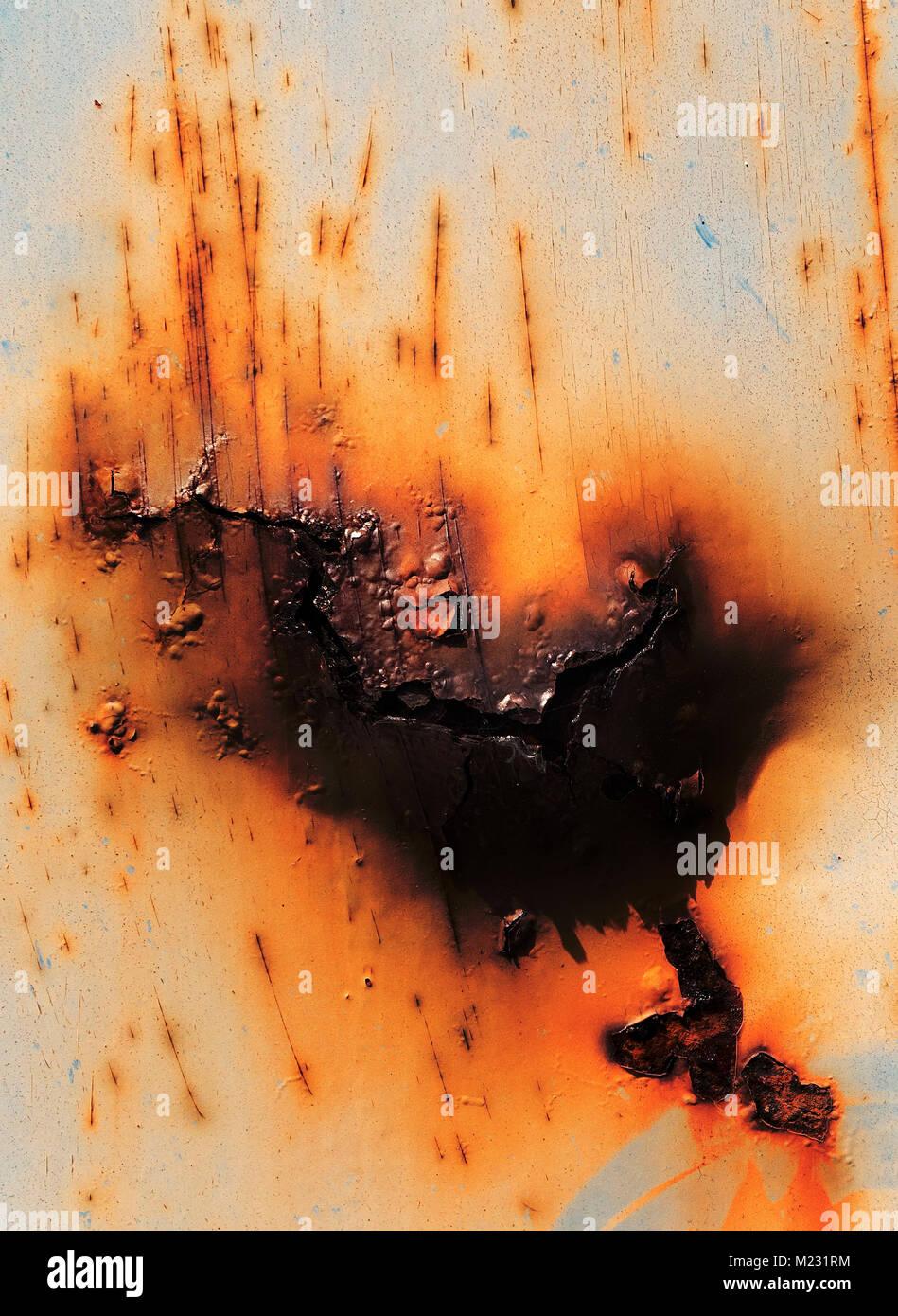 Rusty metal - Stock Image