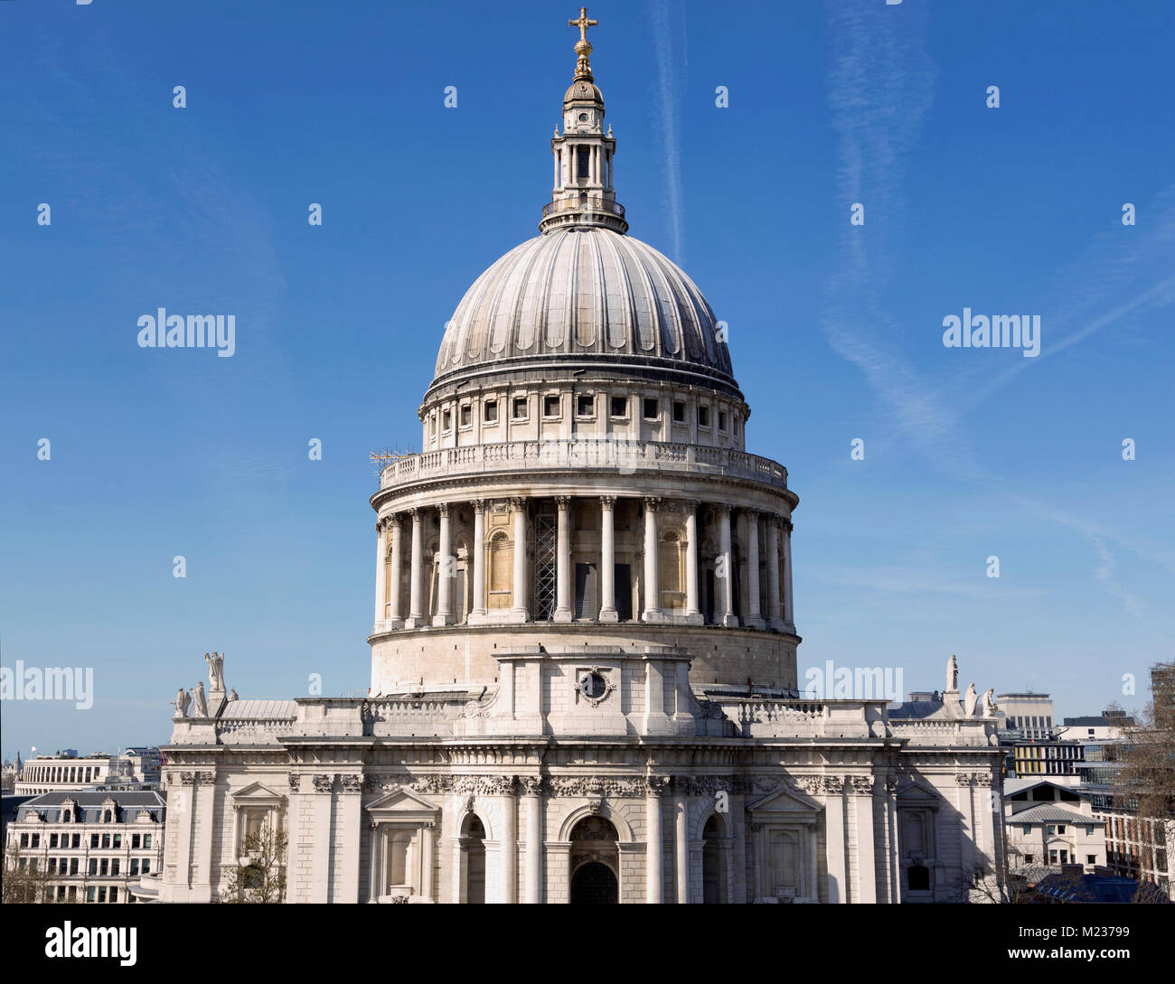 St Pauls Church in the City of London, England Stock Photo