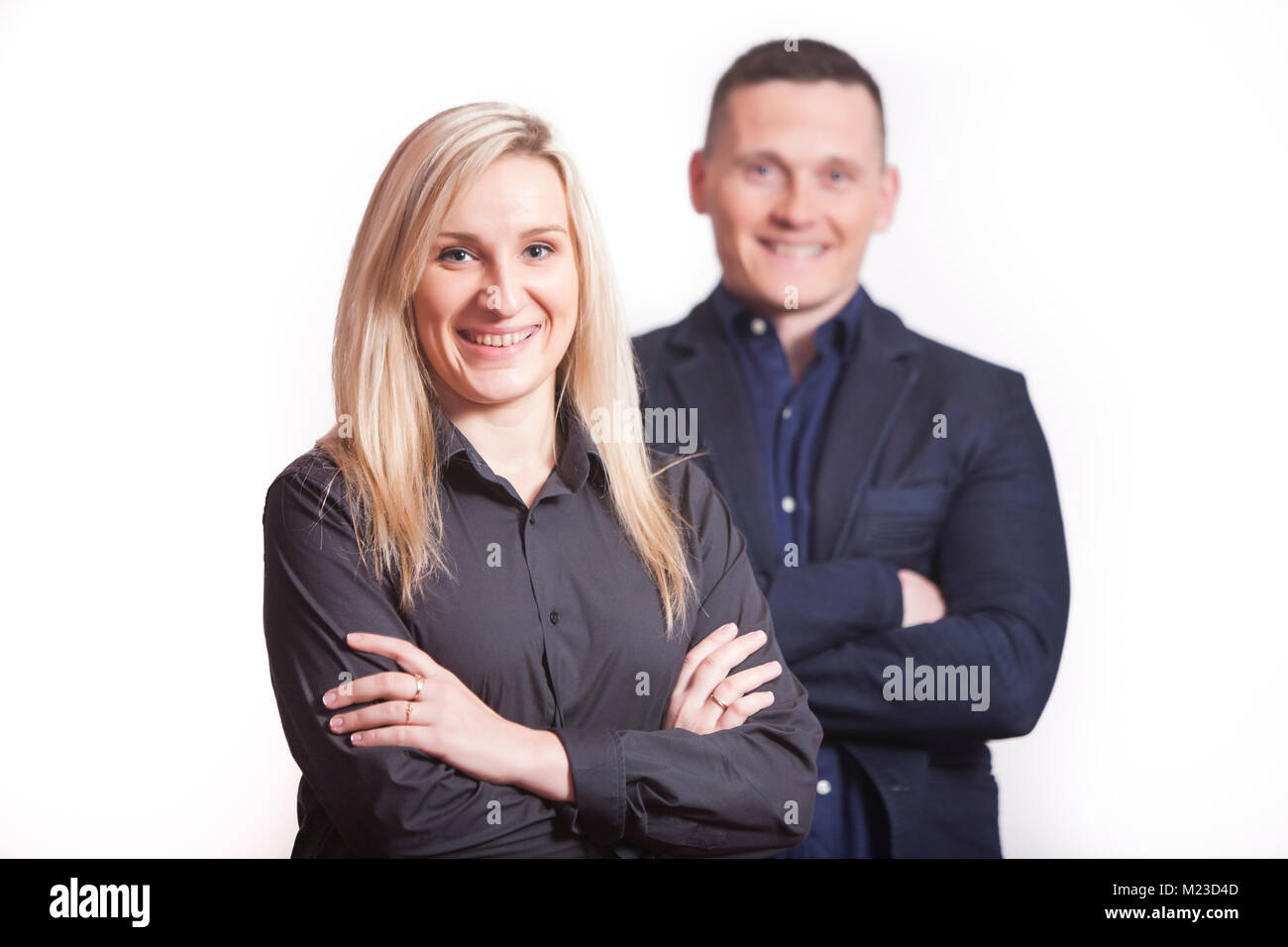 Co-workers - Stock Image