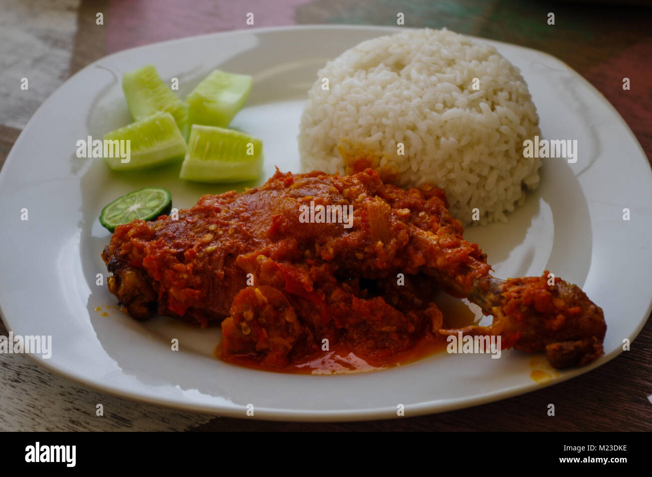 Ayam Rica Rica High Resolution Stock Photography And Images Alamy