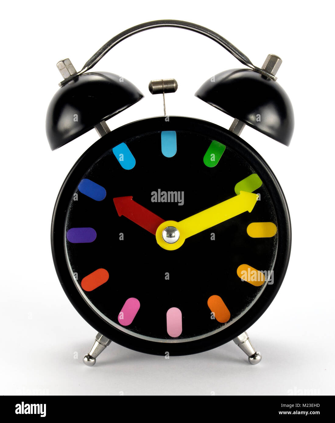 A beautiful colorful timepiece - Stock Image