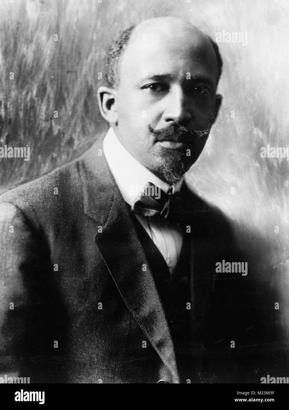 W. E. B. Du Bois (1868 – 1963), co-founder of the National Association for the Advancement of Colored People - Stock Image