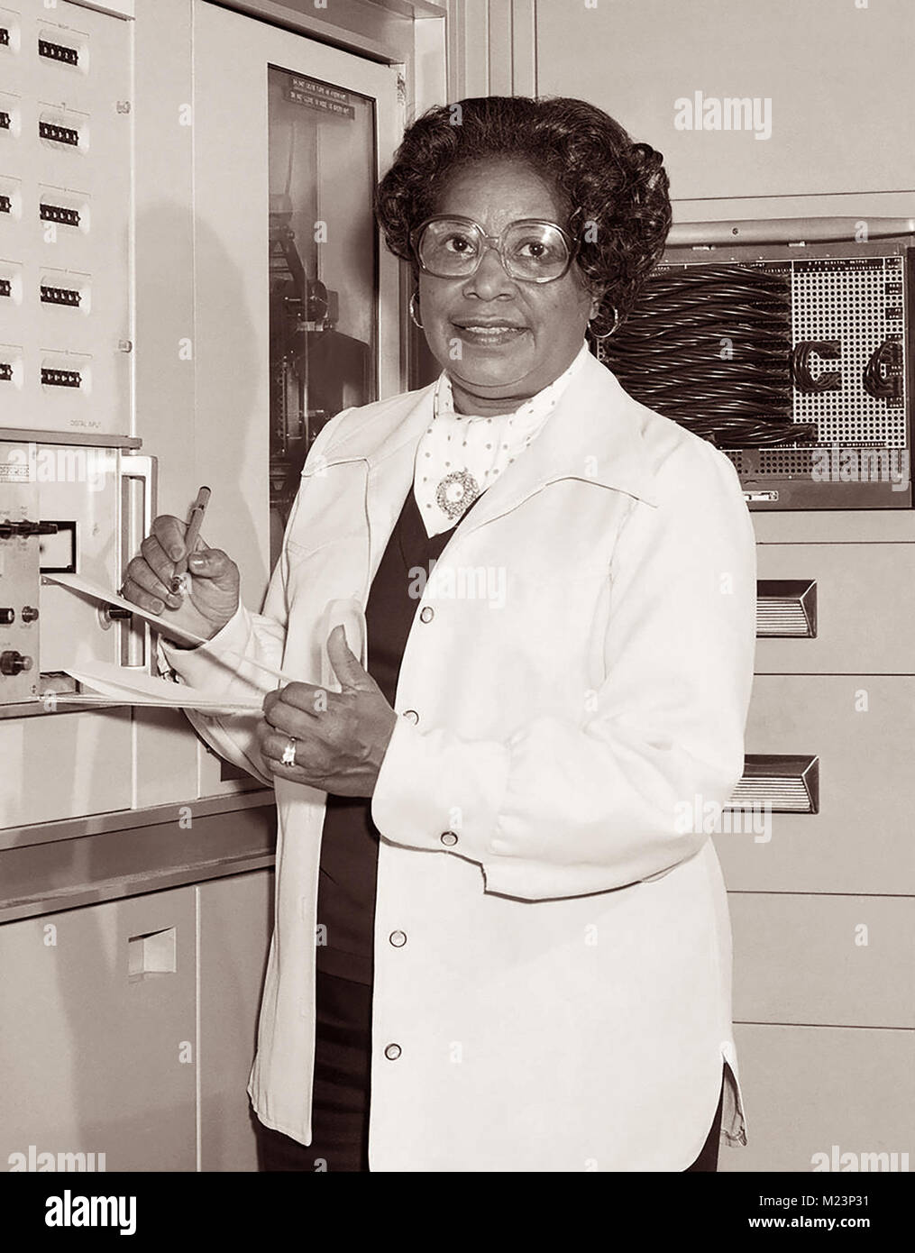 Mary Winston Jackson (1921–2005) was an African American mathematician and aerospace engineer at the National Advisory - Stock Image