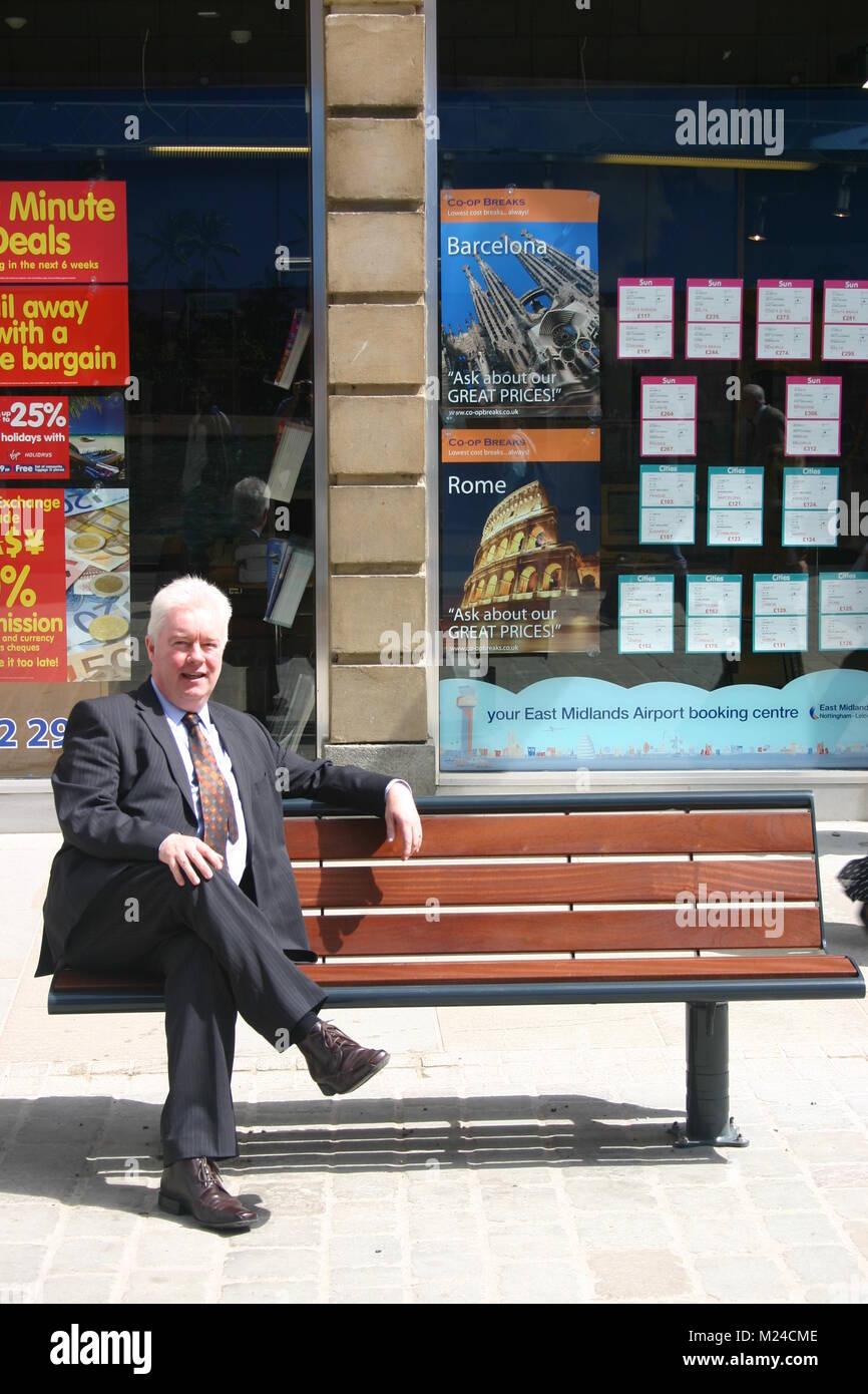 John Forkin, Marketing Derby - Stock Image