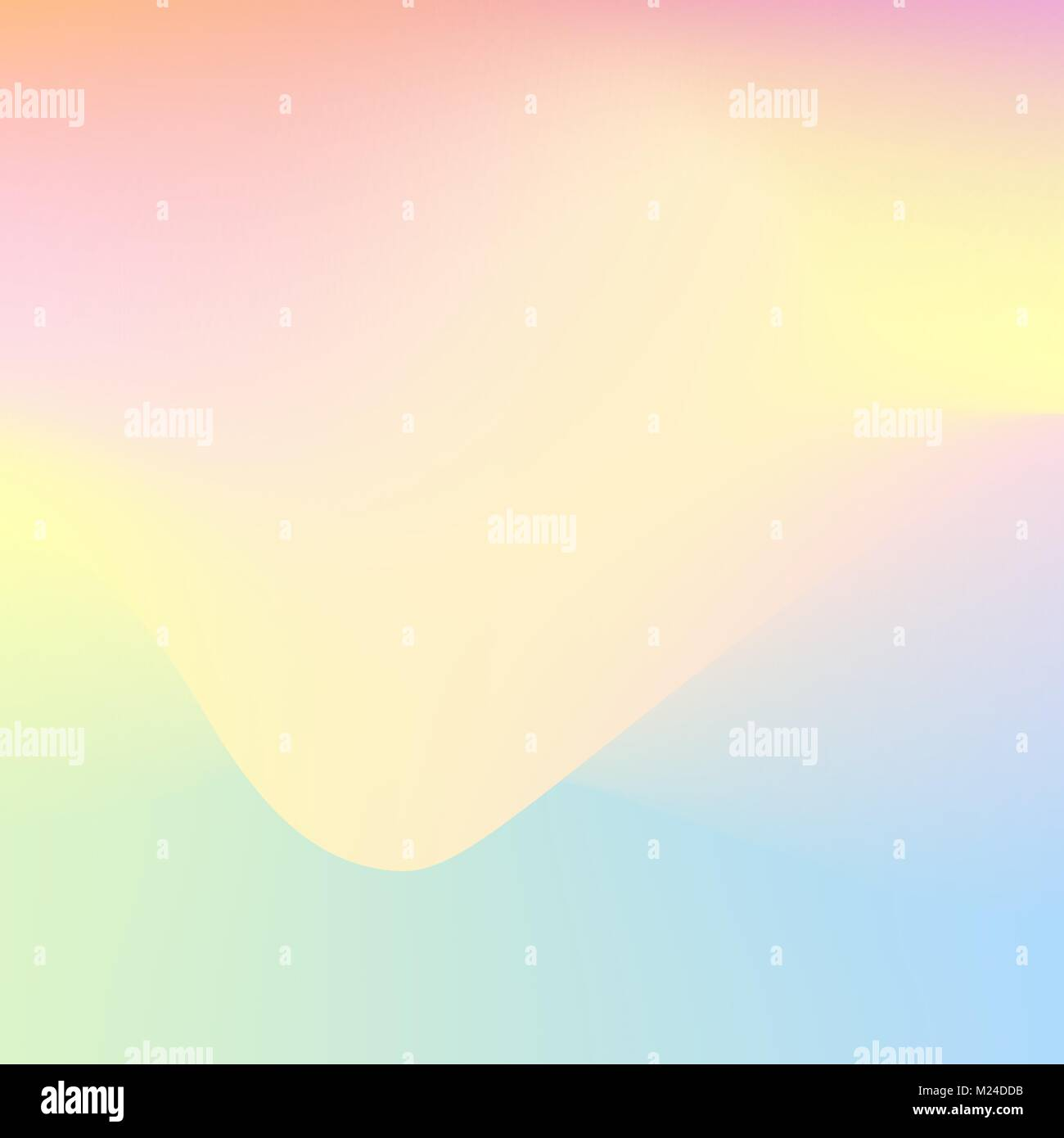 Soft color gradient background. Abstract vector holographic wallpaper Stock Vector