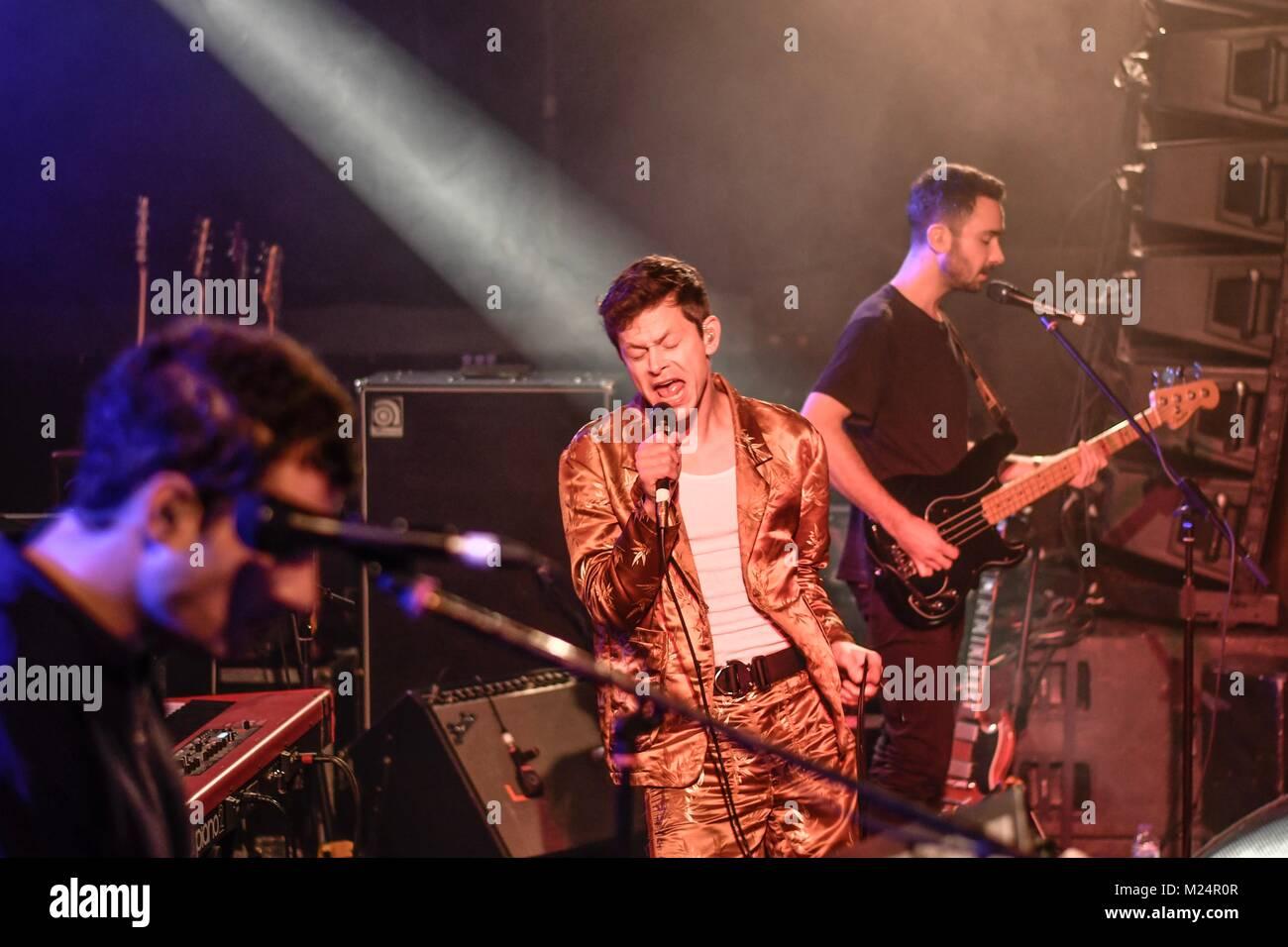 Perfume Genius performing live at Liverpool Music Week 2017 - Stock Image