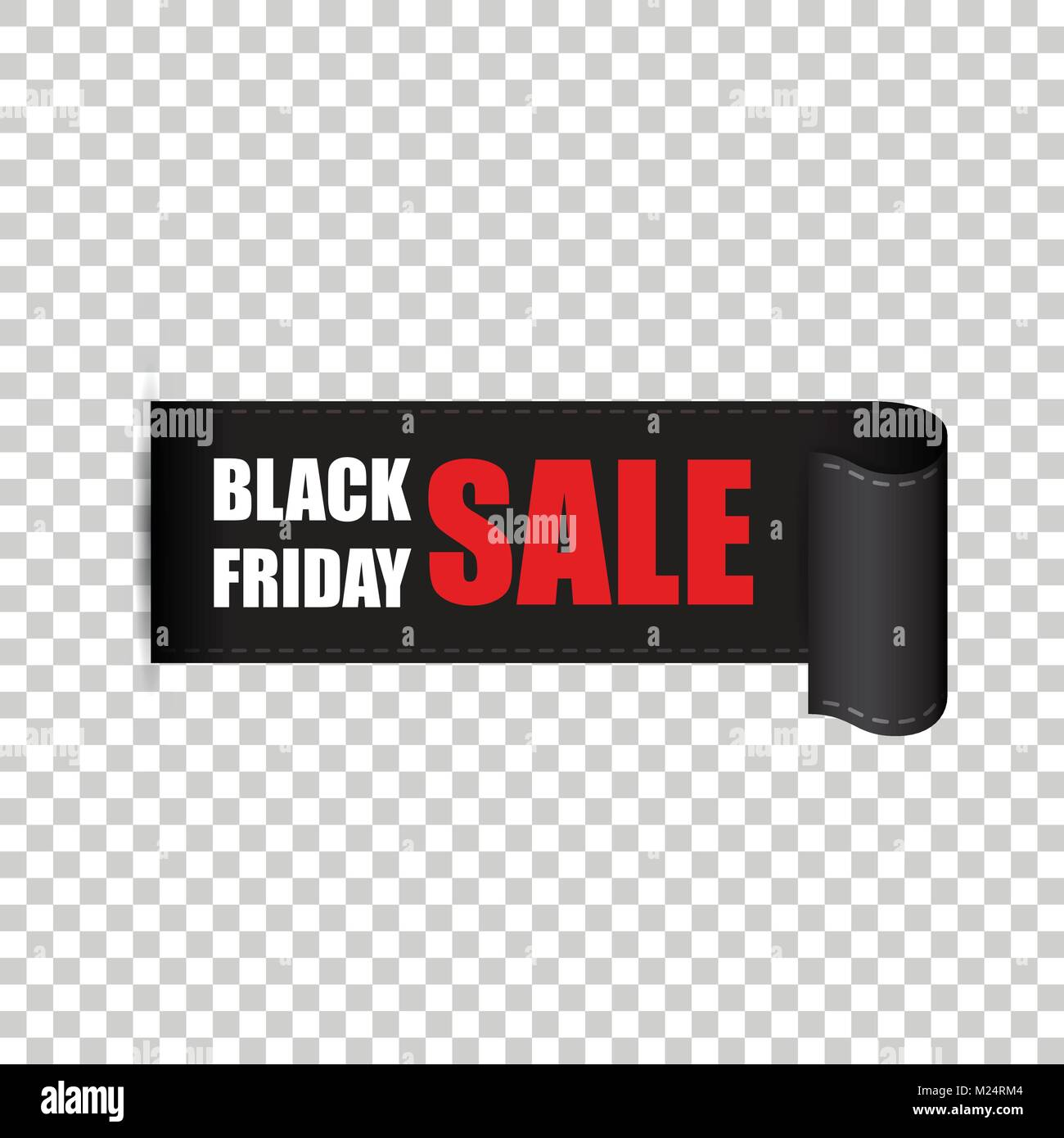 Black friday sales tag. Discount sticker vector illustration. Clothes, food, electronics, cars sale. - Stock Vector
