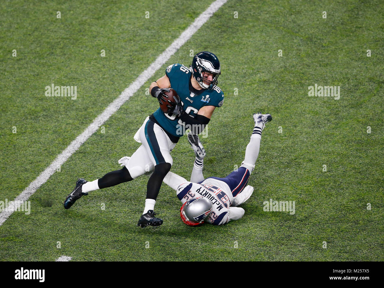 b1499138a09 Philadelphia Eagles tight end Zach Ertz (86) makes a catch and dives for a  touchdown in the fourth quarter during Super Bowl LII between the  Philadelphia ...