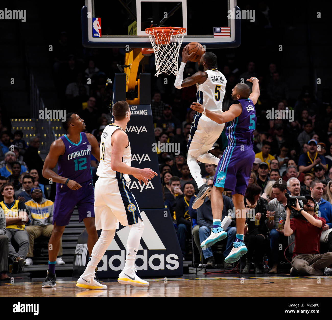 Denver Nuggets Guards: Dwight Howard Stock Photos & Dwight Howard Stock Images