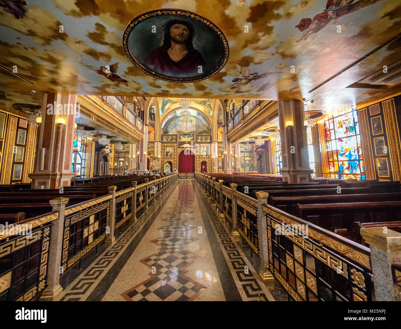 The Heavenly Cathedral in Sharm El Sheikh, Sinai Egypt - Stock Image