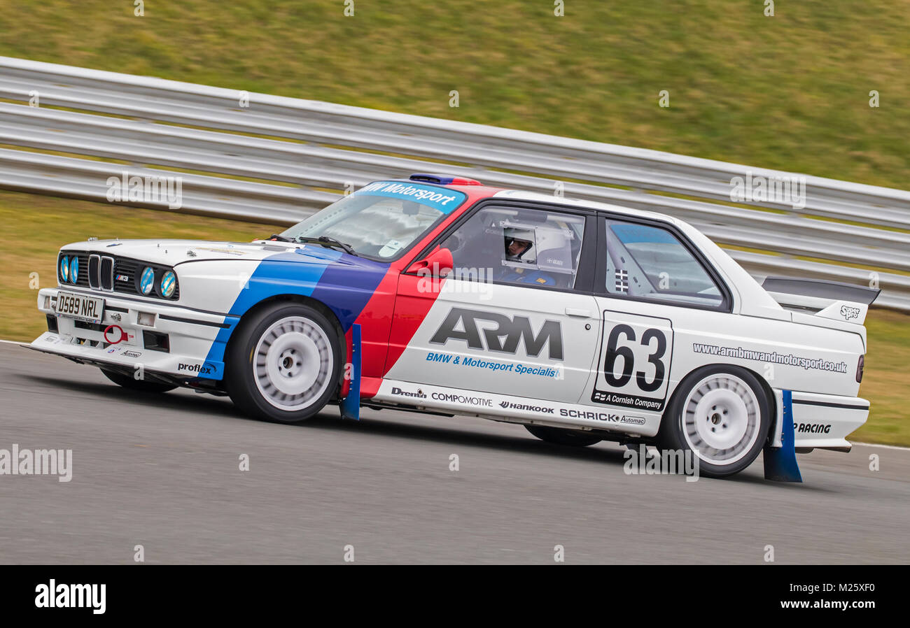Bmw E30 M3 With Driver Joe Geach And Co Driver Chris