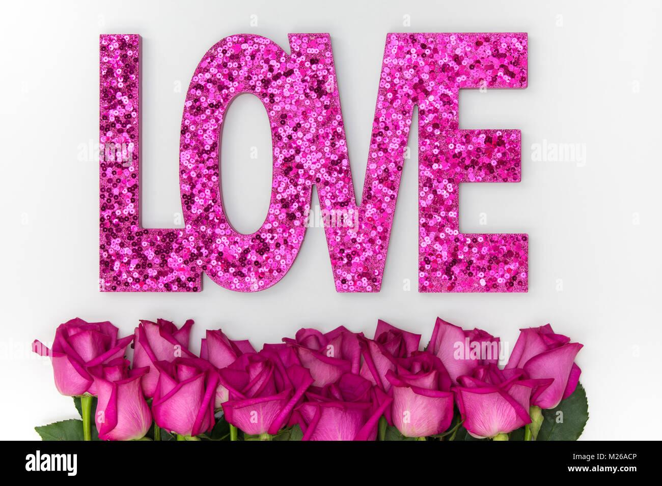Cupid\u2019s Rose in Hot Pink