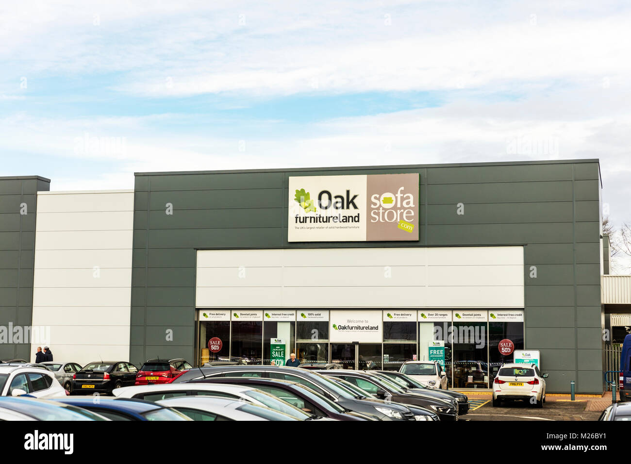 Oak Furnitureland Store Sign, Oak Furniture Land Store Sign, Oak Furniture  Store Sign,
