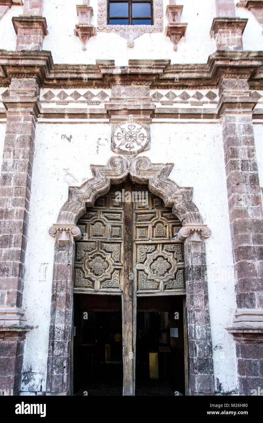 Misión Nuestra Señor San Ignacio de Kadakaamán, also at times called the San Ignacio mission as it - Stock Image