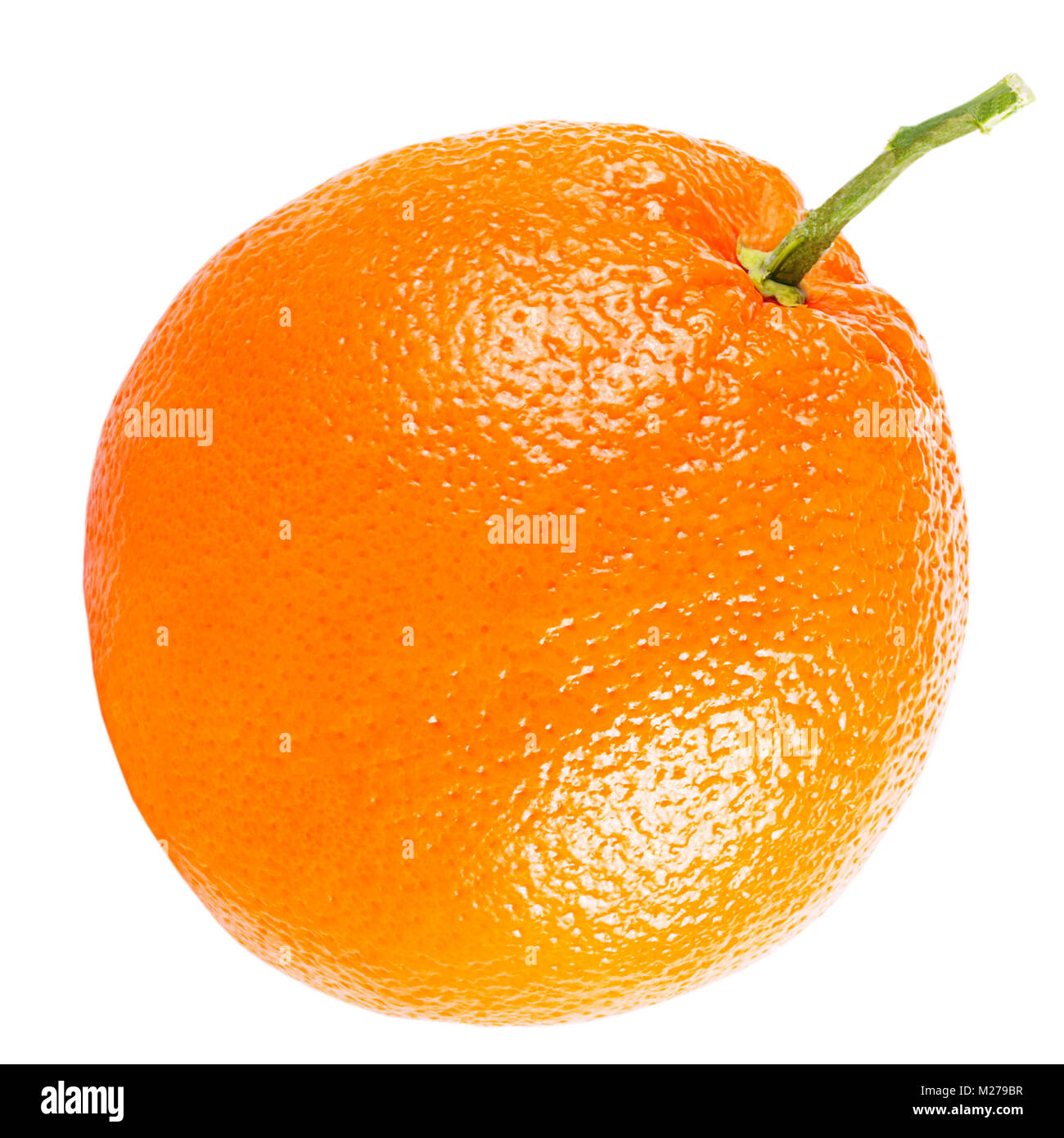 Isolated oranges on white background with clipping path as packaging design element. - Stock Image