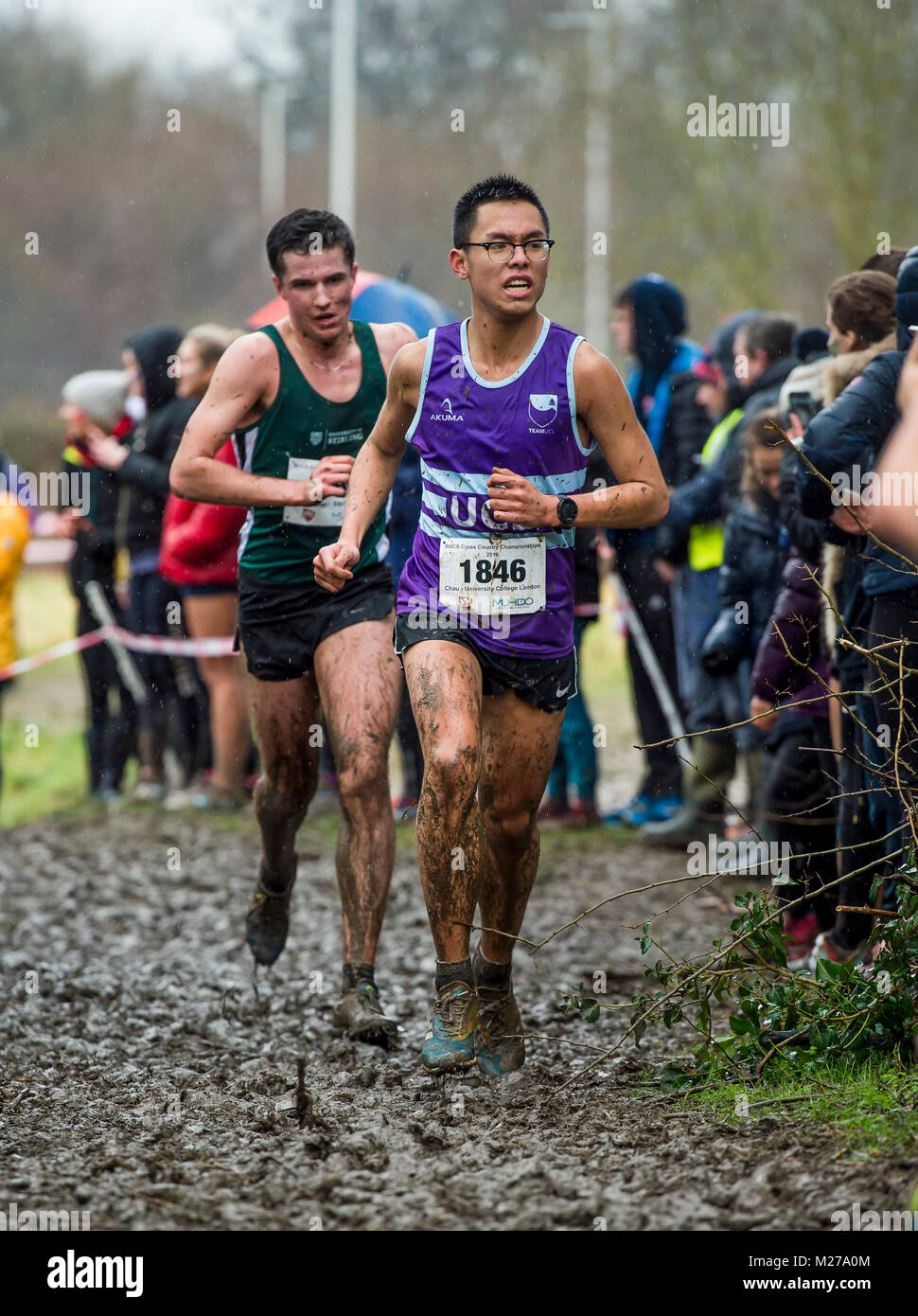BUCS (British Universities & Colleges Sport) Cross Country Championships 2018 - Stock Image