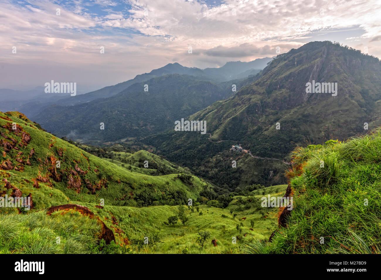 Little Adam's Peak, Ella, Sri Lanka, Asia - Stock Image