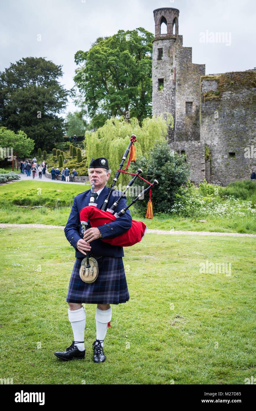Blarney Castle and Gardens, County Cork, Ireland - Stock Image