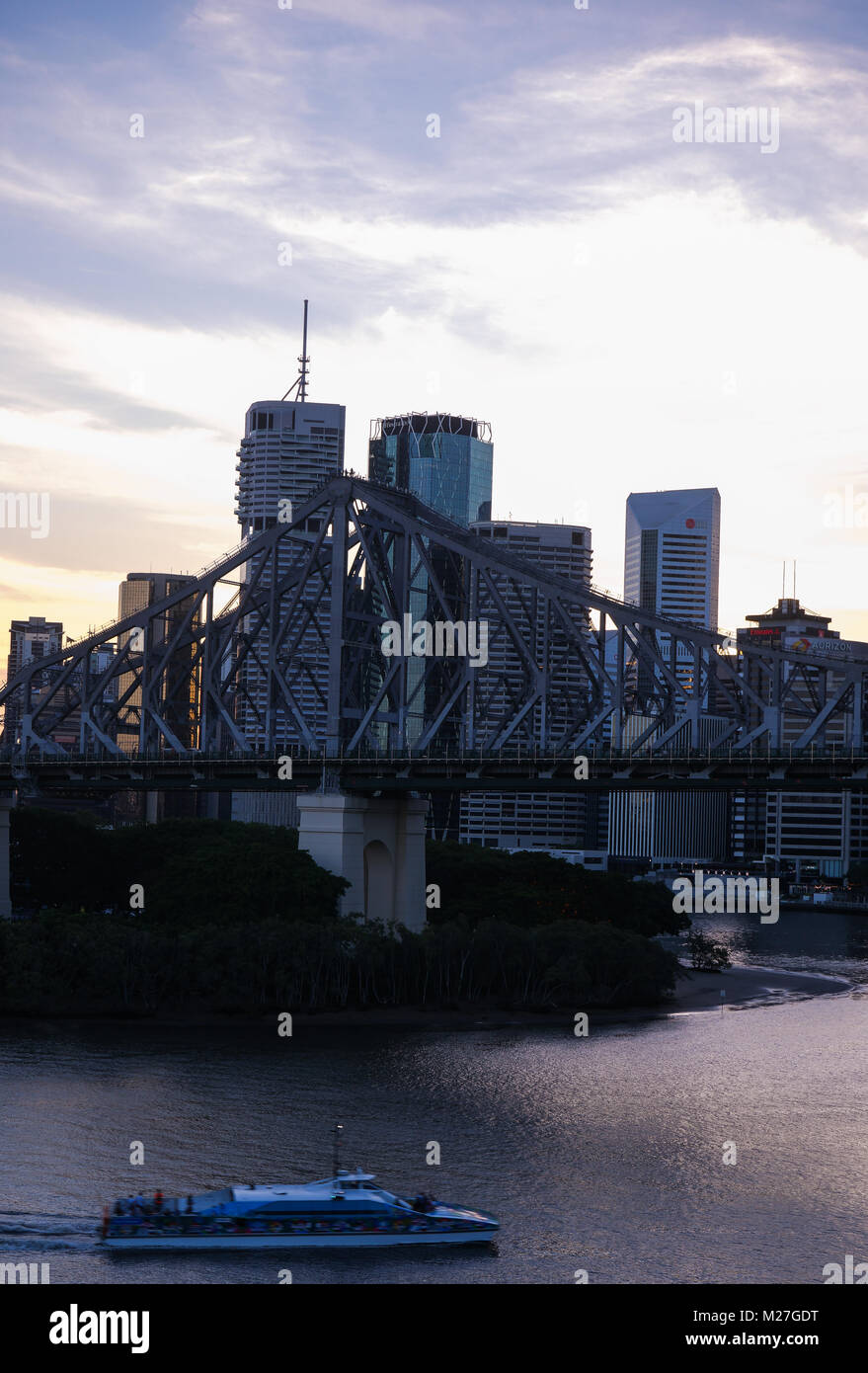 Brisbane City - Stock Image