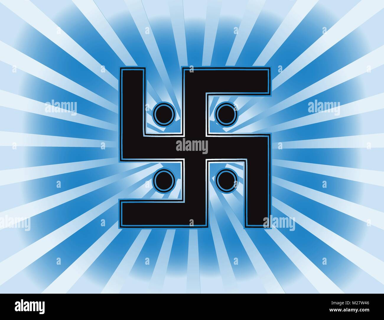The Most Important Symbol In The Religion Of Jainism The Sun Stock
