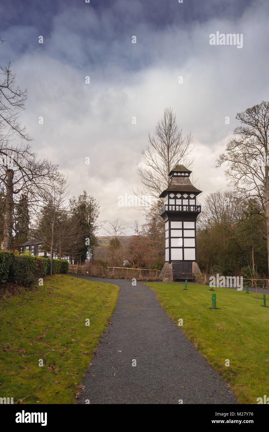 Dovecote, Plas Newydd House, Llangollen, Denbighshire, North Wales, UK Stock Photo