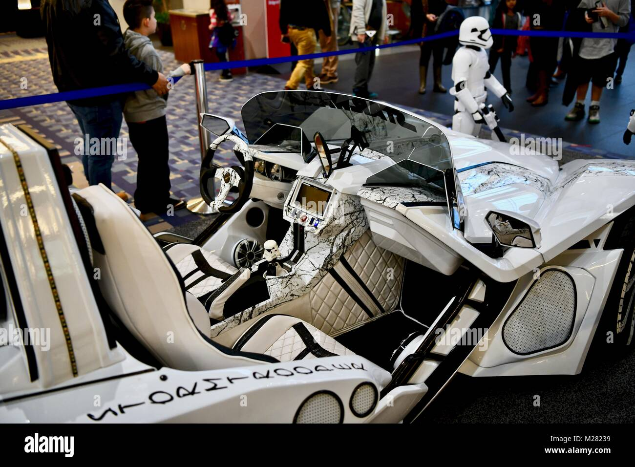 custom star wars car stock photos custom star wars car stock images alamy. Black Bedroom Furniture Sets. Home Design Ideas