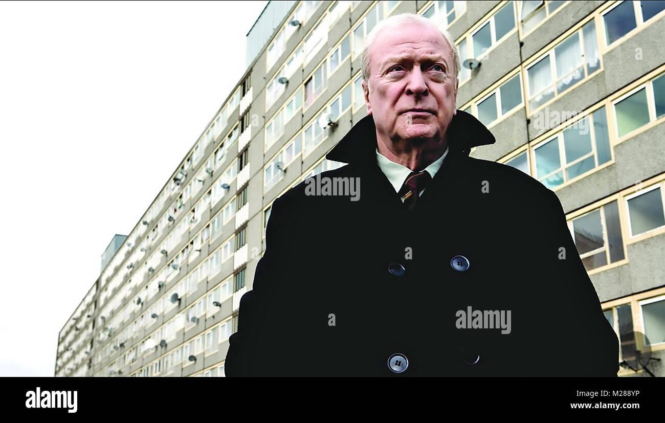 HARRY BROWN  2009 Marv Films production with Michael Caine - Stock Image