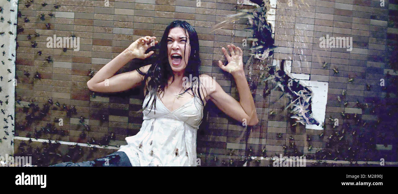 THE UNBORN 2009 Rogue Pictures film with Odette Annable - Stock Image