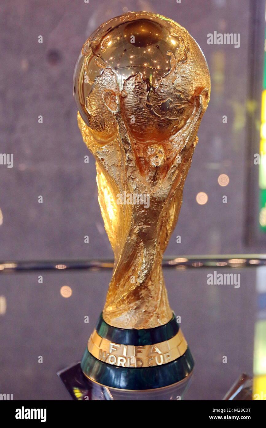 Wm Pokal 2014 Von Fussball Weltmeister Deutschland Beim