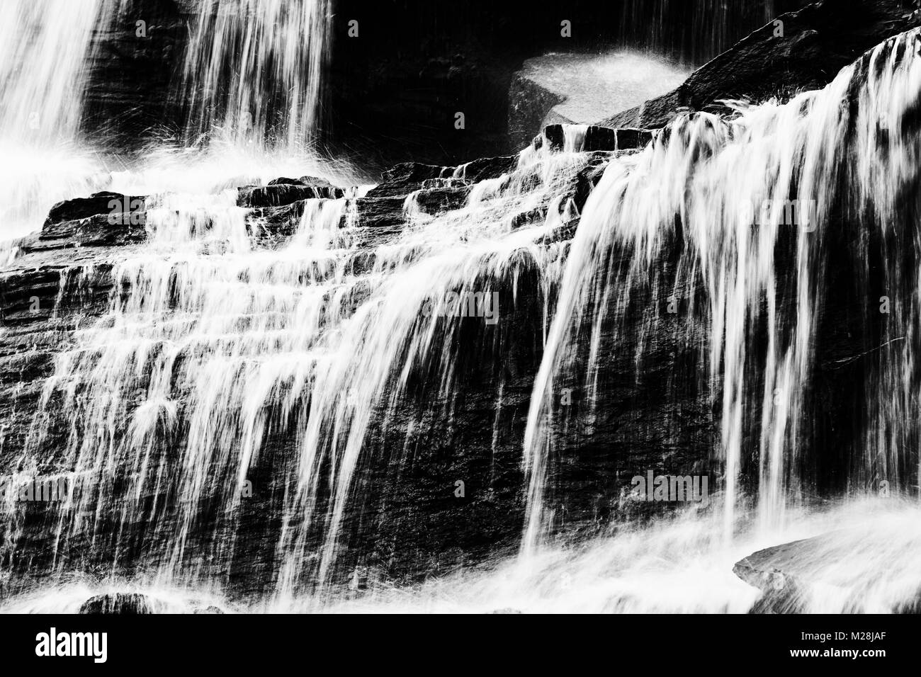 Kintampo Waterfalls in Ghana - Stock Image
