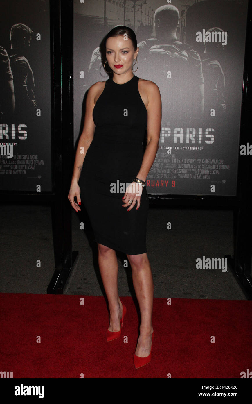 """Burbank, California, USA. 5th February, 2018. 02/05/2018 The World Premiere of """"The 15:17 to Paris"""" held at The SJR Theater at Warner Bros. Studios in Burbank, CA Photo by Izumi Hasegawa / HollywoodNewsWire.co Credit: Hollywood News Wire Inc./Alamy Live News Stock Photo"""