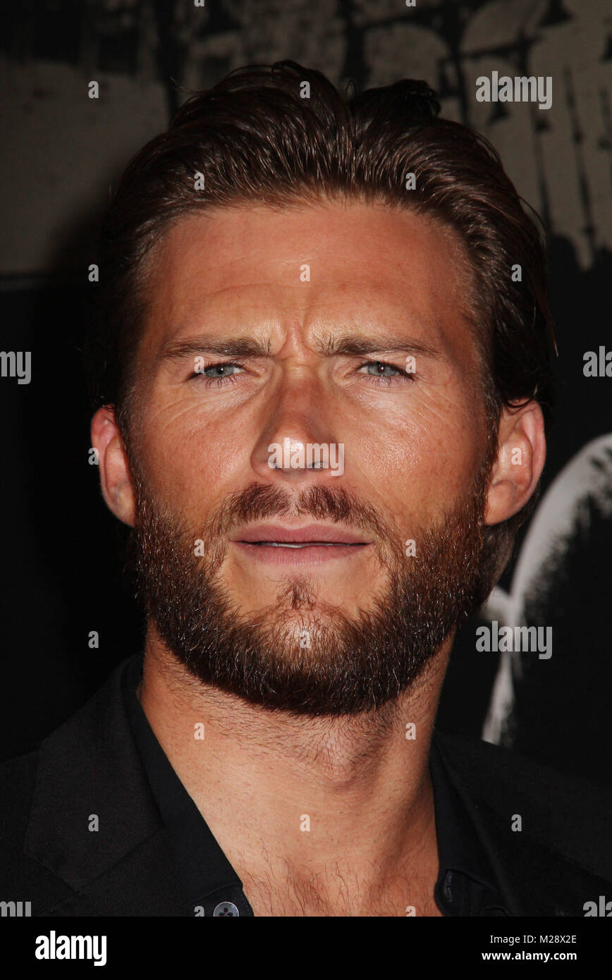 """Burbank, California, USA. 5th February, 2018. Scott Eastwood  02/05/2018 The World Premiere of """"The 15:17 to Paris"""" held at The SJR Theater at Warner Bros. Studios in Burbank, CA Photo by Izumi Hasegawa / HollywoodNewsWire.co Credit: Hollywood News Wire Inc./Alamy Live News Stock Photo"""