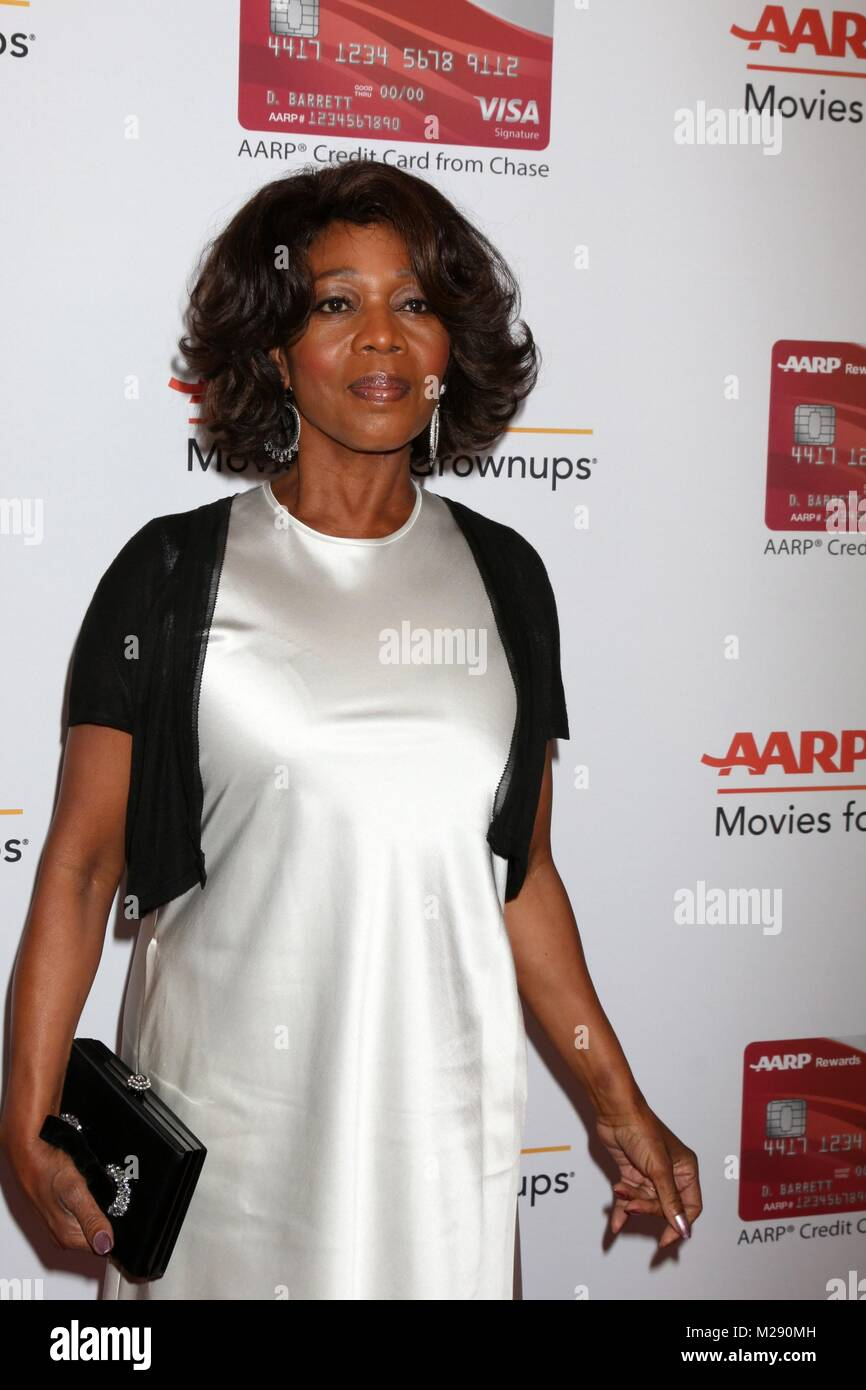 Alfre Woodard at arrivals for AARP The Magazine's 17th Annual Movies For Grownups Awards, Beverly Wilshire Hotel, - Stock Image