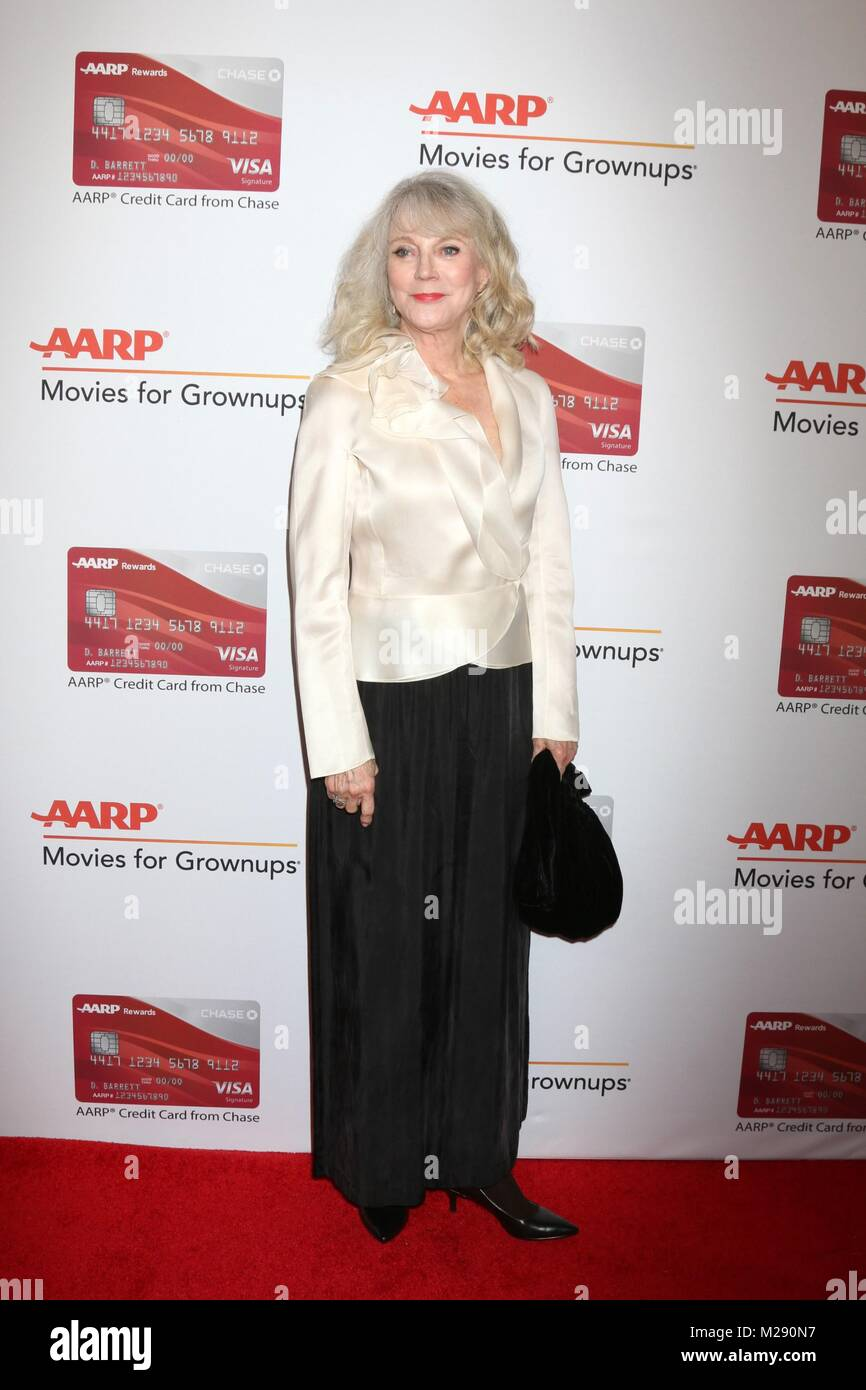 Blythe Danner at arrivals for AARP The Magazine's 17th Annual Movies For Grownups Awards, Beverly Wilshire Hotel, - Stock Image