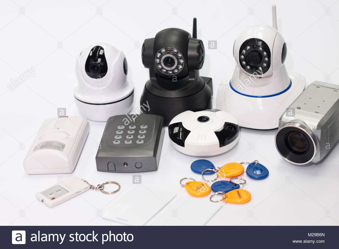 Security Equipment and Technology - Stock Image