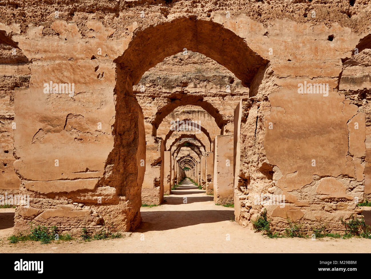 Heri es-Souani, Imperial Royal Stables, Meknes, Morocco, Africa Stock Photo