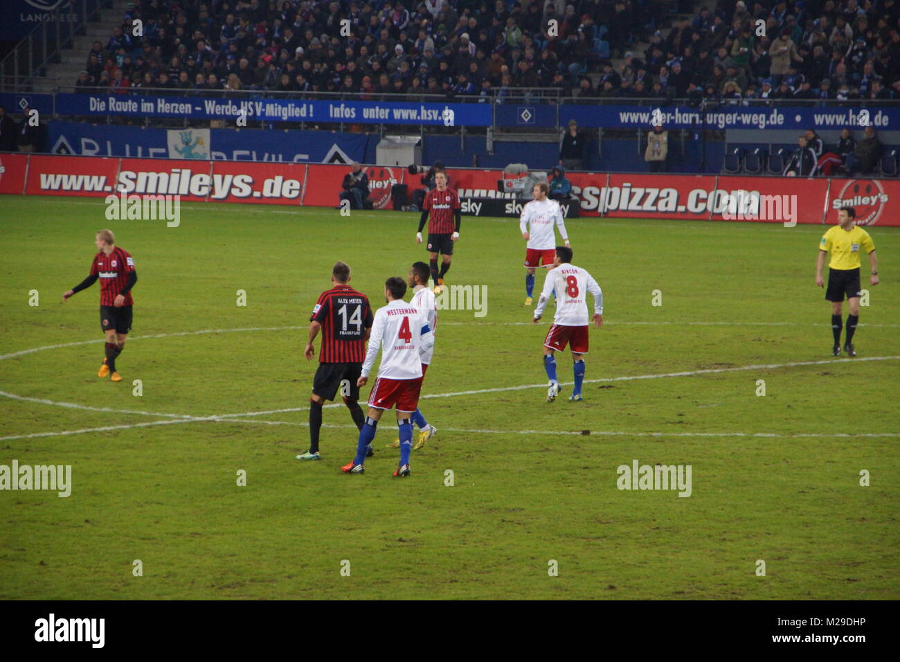 The Football Player From The Team Hamburger Sportverein Hsv Hamburg Stock Photo Alamy