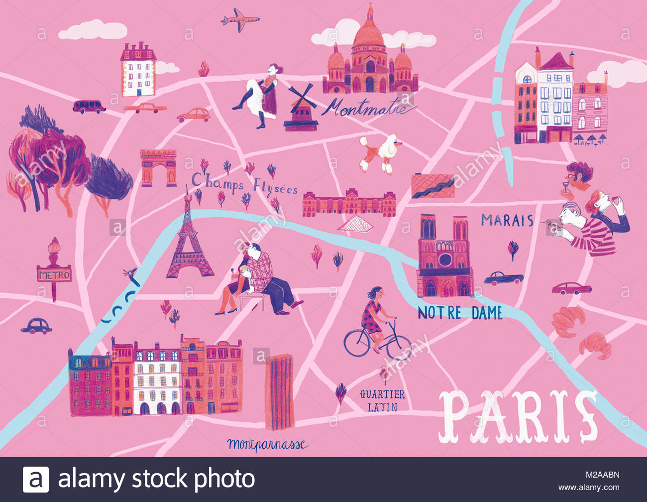 Illustrated map of Paris, France Stock Photo: 173560681 - Alamy on photography of paris, high resolution map of paris, simplified map of paris, fun map of paris, highlighted map of paris, religion map of paris, english map of paris, watercolor of paris, large map of paris, travel map of paris, white map of paris, detailed street map of paris, printable map of paris, outlined map of paris, antique map of paris, color map of paris, illustration of paris, interactive map of paris, history map of paris, sports map of paris,