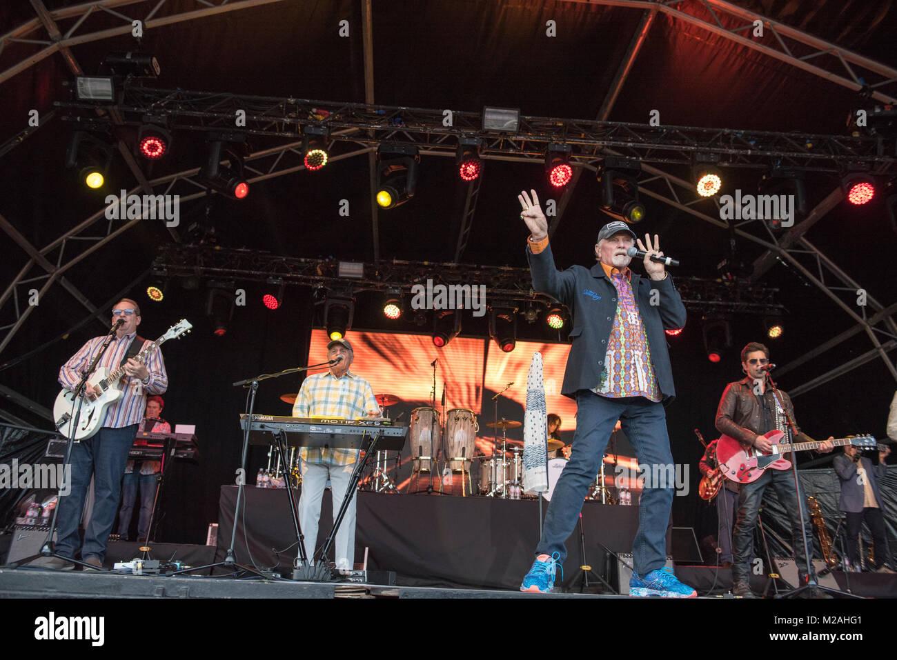 The Beach Boys at Montrose Music Festival 2017. - Stock Image