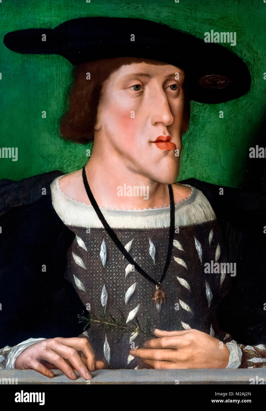 Emperor Charles V  (1500-1558) by unknown artist, c.1515 - Stock Image